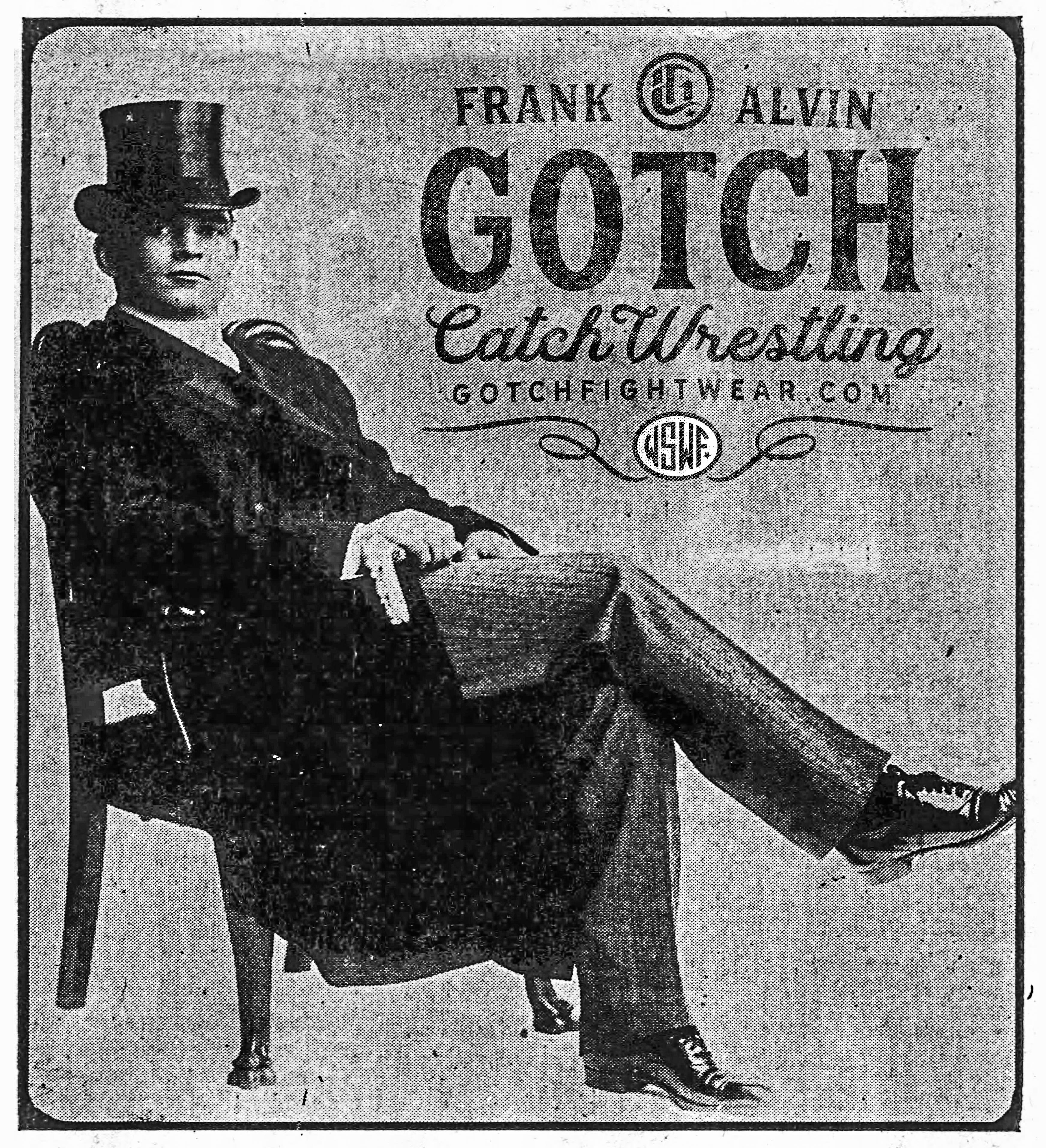 Frank Gotch Poster